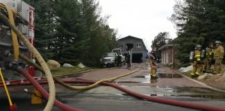 Sandy Barn Fire