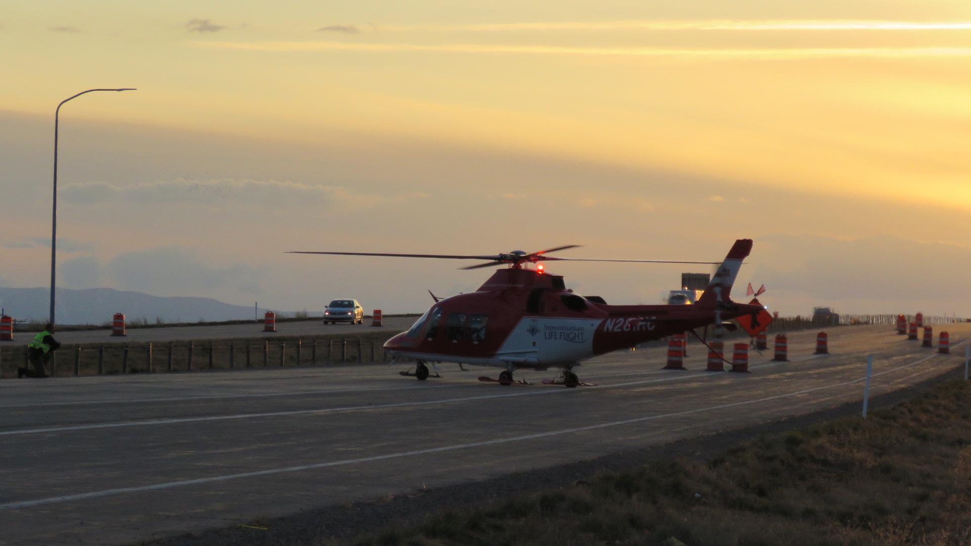 Multi Vehicle Crash On Sr 36 In Erda Sends Several To