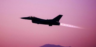 F-16 Fighting Falcon Crashes On Takeoff