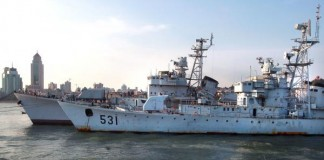 North Korea Ships