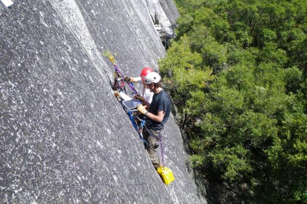 Rockfalls In Yosemite