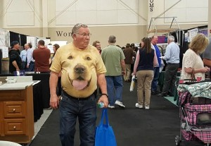 Visitors checked out hundreds of booths at the home show, this weekend in Sandy. Photo: Gephardt Daily