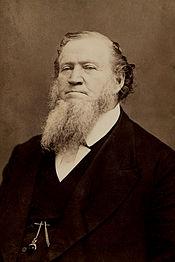 Brigham Young c. 1870. Photo: Wikipedia