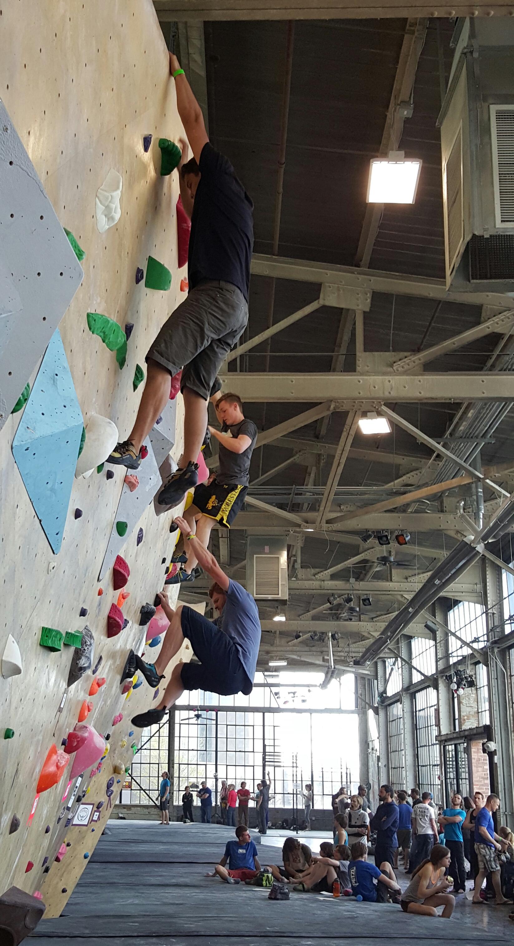 Ogden Climbing Festival 2016. Photo: Gephardt Daily