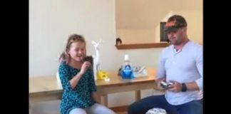 Dad-uses-Millennium-Falcon-drone-to-remove-daughters-tooth