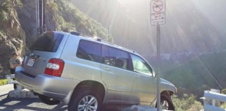 Man-nearly-drives-off-cliff-then-gets-hit-by-bus
