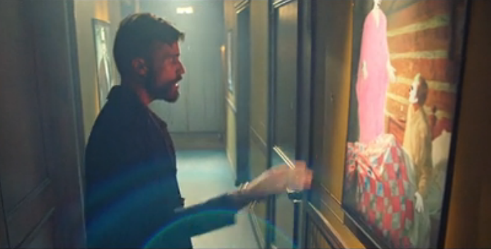 """Image: Video for """"Trash,"""" by Tyler Glenn, pictured."""