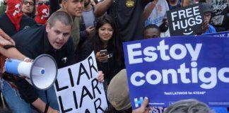 Clinton Trump Sanders Latino voters presidential election