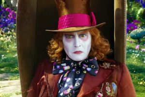 """Johnny Depp as 'The Mad Hatter' in """"Alice Through the Looking Glass / Photo Courtesy: Walt Disney Pictures"""
