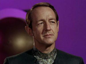 """William Schallert as 'Nilz Barus' on """"Star Trek / Photo Courtesy: NBC TV"""