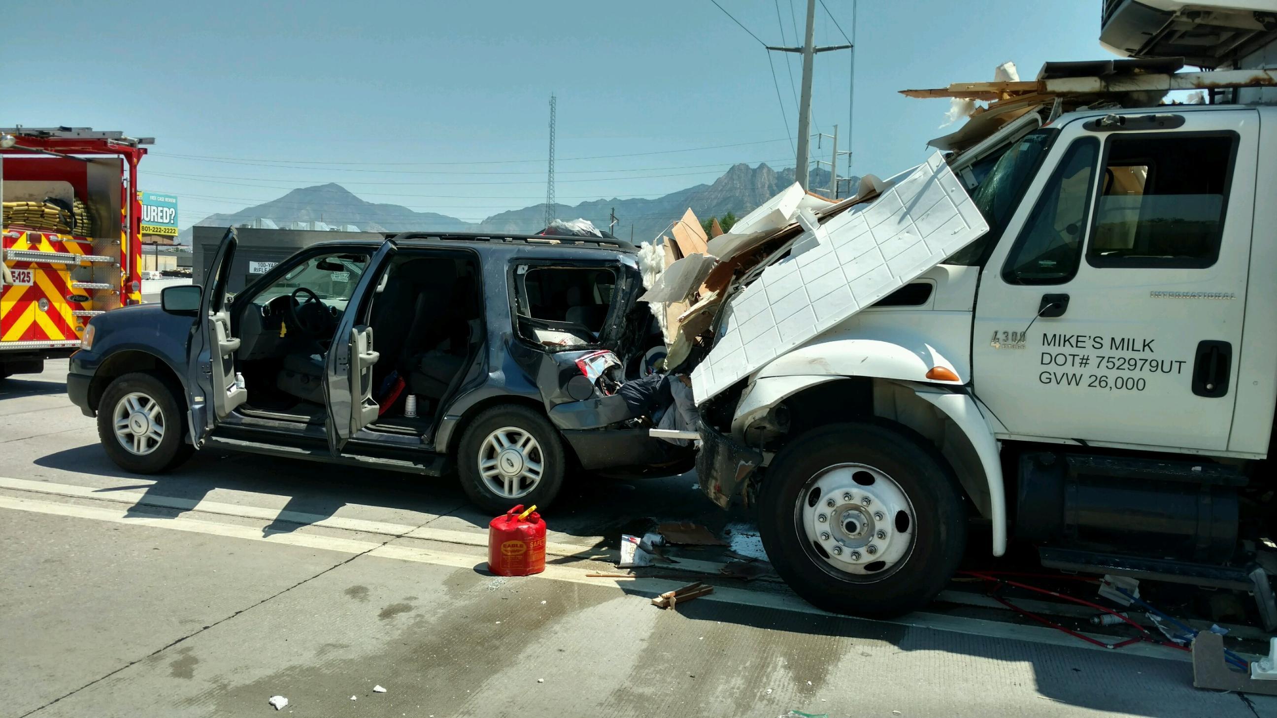 Car Semi Accident Indiana