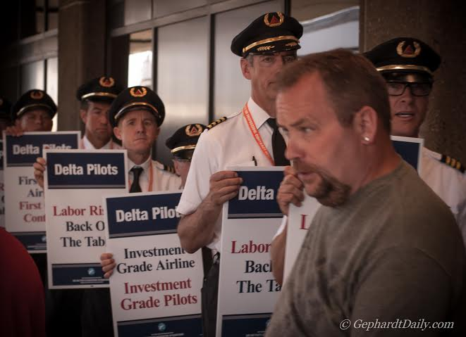 Delta Airlines' Pilots Fight For Share Of Company's Success ...