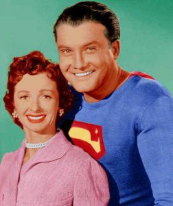 Noel Neill & George Reeves 'The Adventures of Superman' / Photo Courtesy: RKO Archives