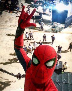 Tom Holland's Selfie / Photo Courtesy: Tom Holland / Instagram