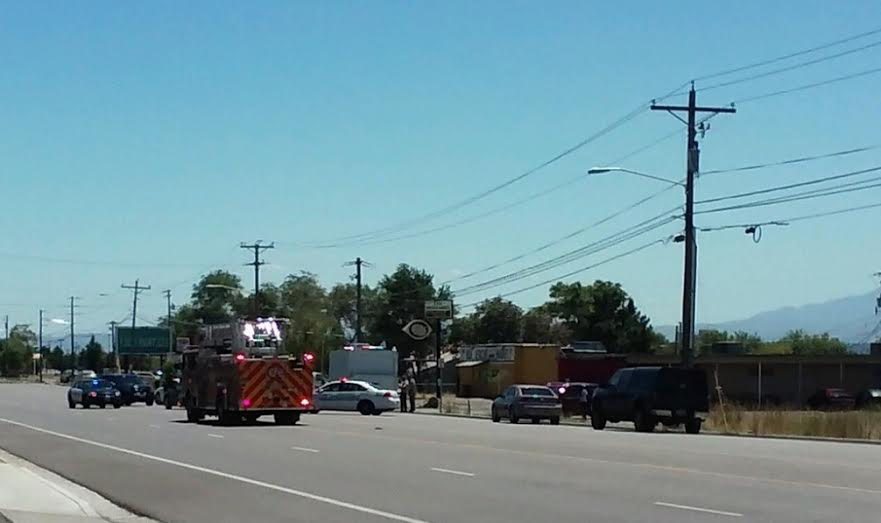 Redwood road reopened in slc after alleged pipe bomb scare for Department of motor vehicles salt lake city utah