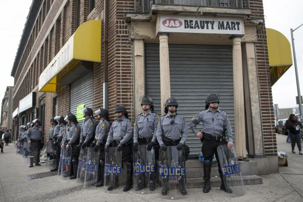 Scathing Report Blasts Baltimore Police