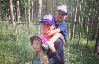 Chelsey Russell is pictured with her children. Source: Denver Post