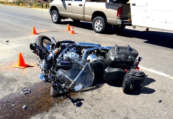 Update Female Motorcyclist Dies After Crash That Shut