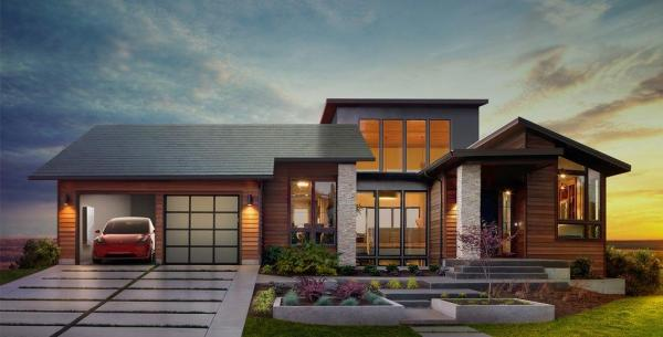 Elon Musk unveils solar roof shingles at Los Angeles event