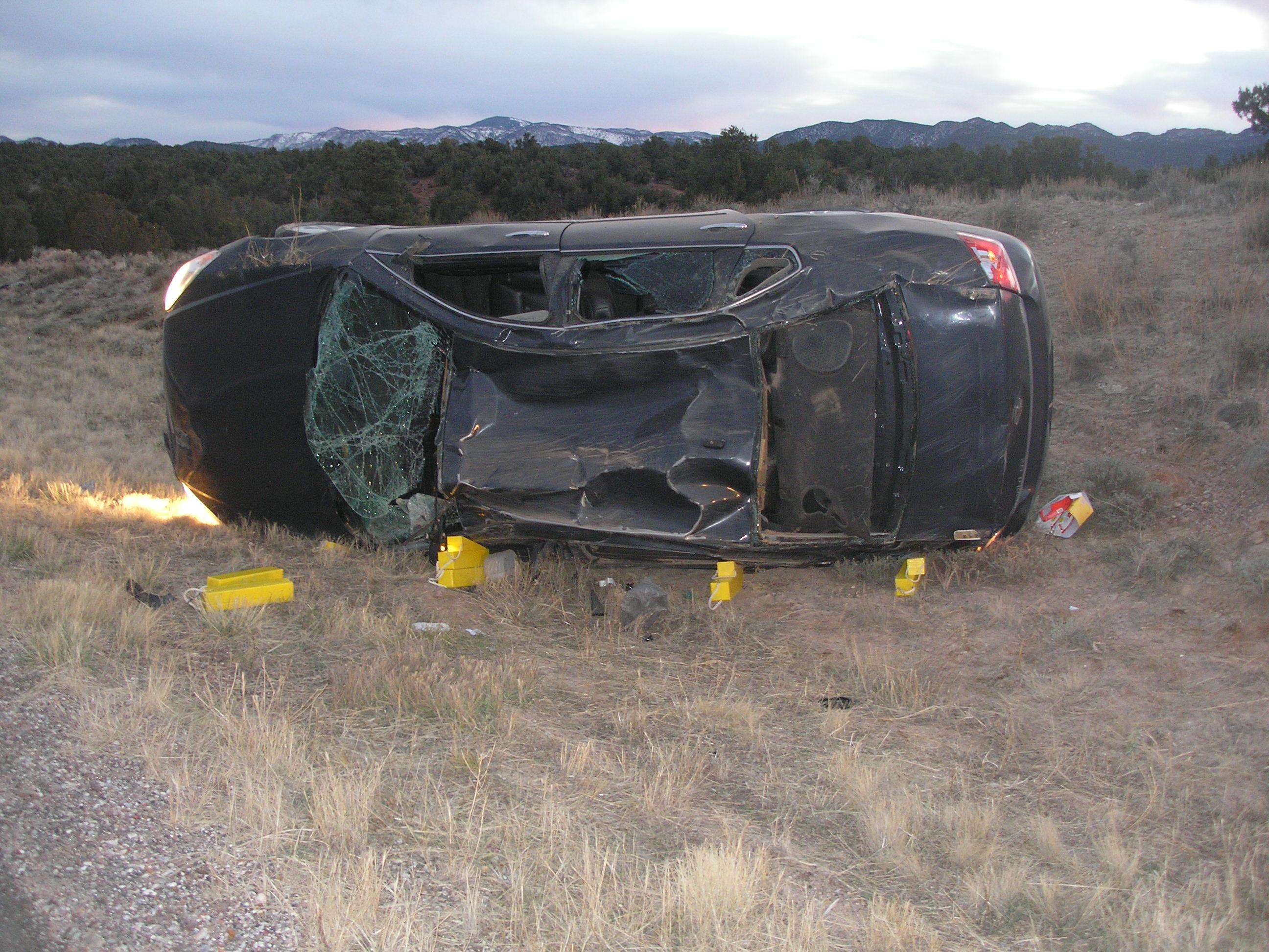 Car Crash In New Castle Utah