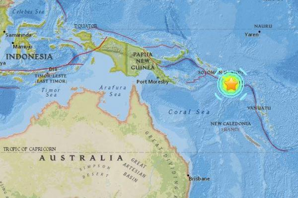 Powerful Earthquake Off Solomon Islands Puts Region At Tsunami Risk