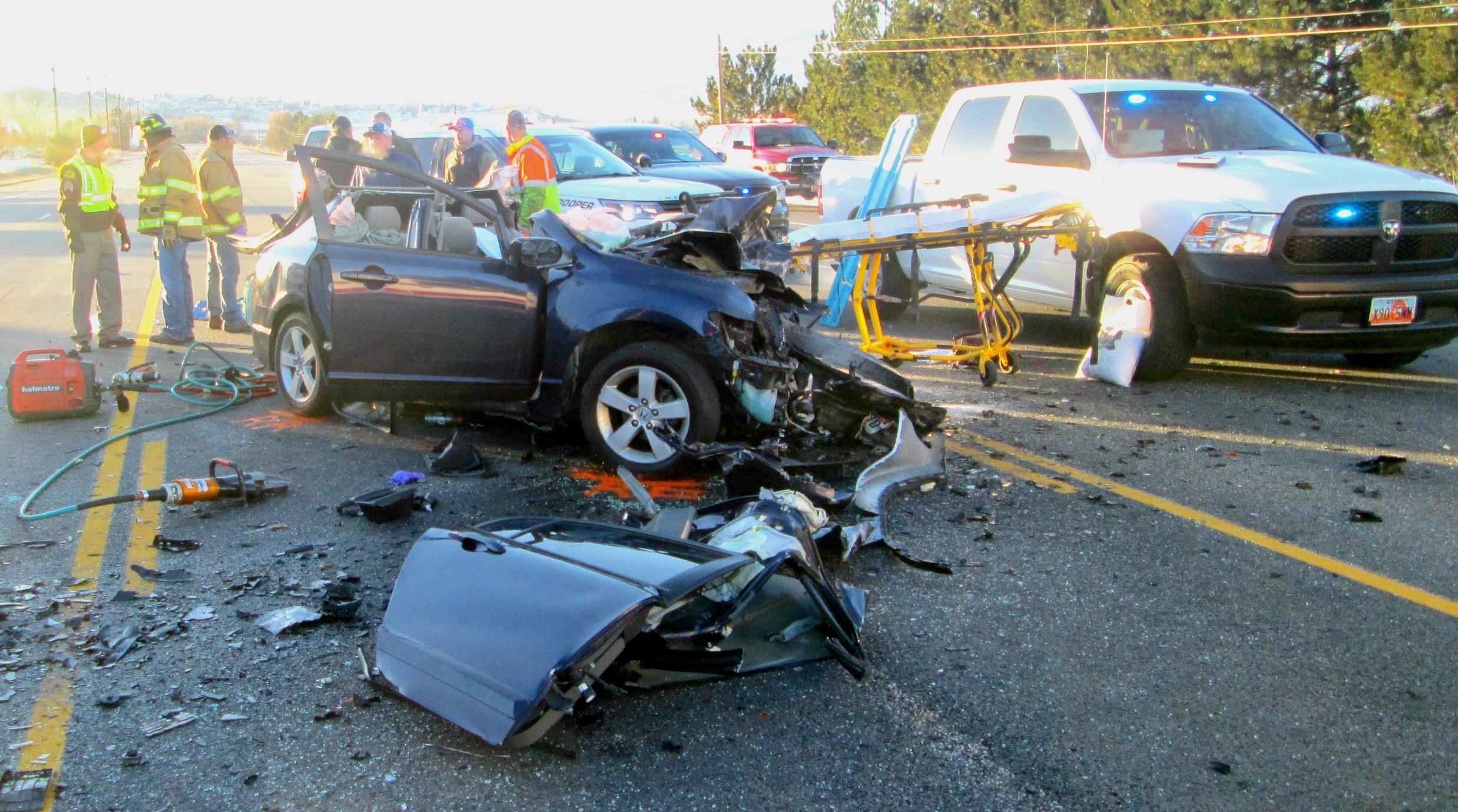 Car Crash Heber City Update