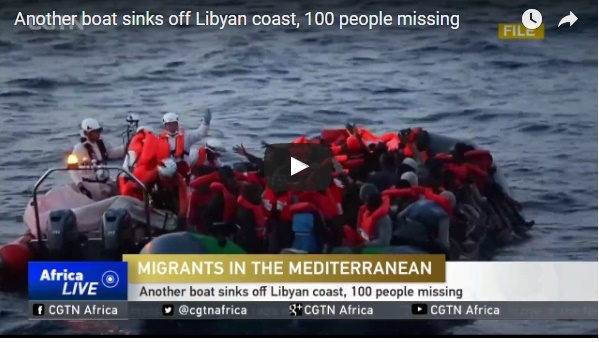 Libyan coast guard says 97 missing after migrant boat sinks