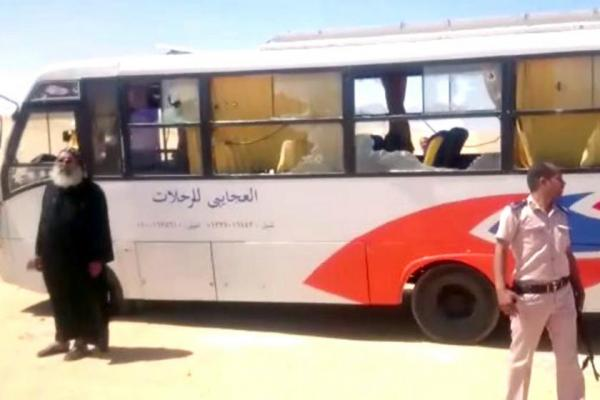 Egypt strikes back after gunmen kill 28 Coptic Christians in bus attack
