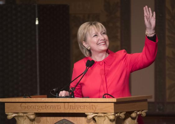 hillary clinton launches political action group onward