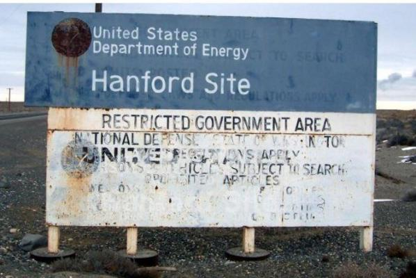 Hanford contractor finds radioactive contamination on worker's clothes