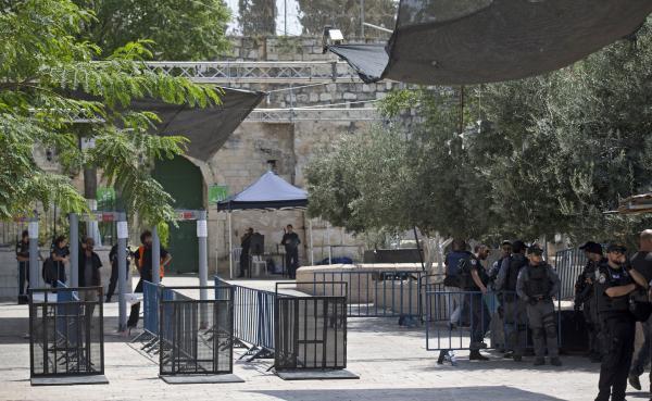 Jew Detector: Israel To Remove Metal Detectors At Al-Aqsa Mosque