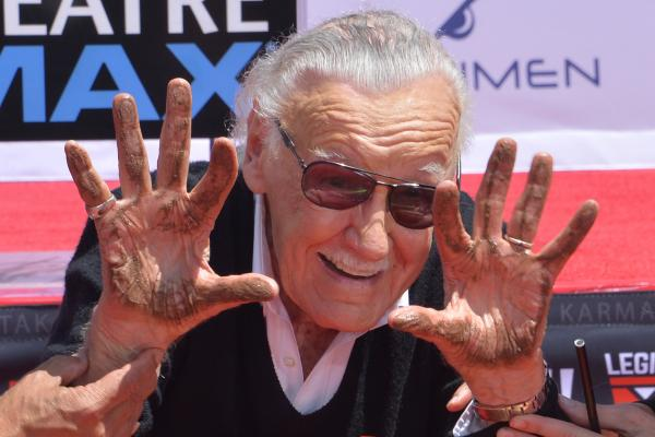 Hollywood honors Marvel Comics legend Stan Lee