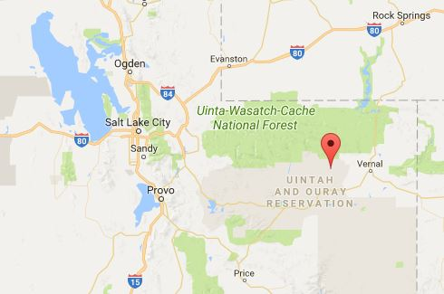 Utah fbi female body found in duchesne county homicide suspected source google maps the marked area is whiterocks utah publicscrutiny Choice Image