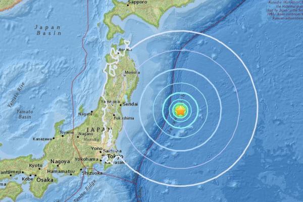Magnitude-6.1 natural disaster strikes off coast of Japan