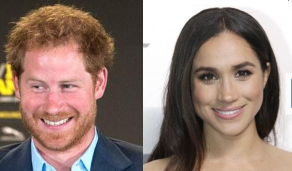 Prince Harry and his girlfriend Meghan Markle made their