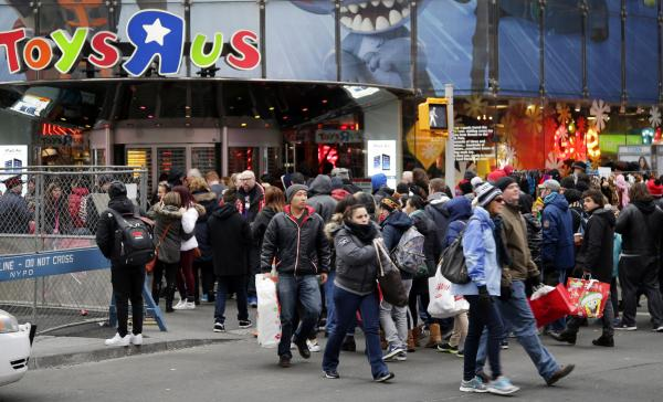 Toys 'R' Us files for bankruptcy protection in the U.S.  and Canada