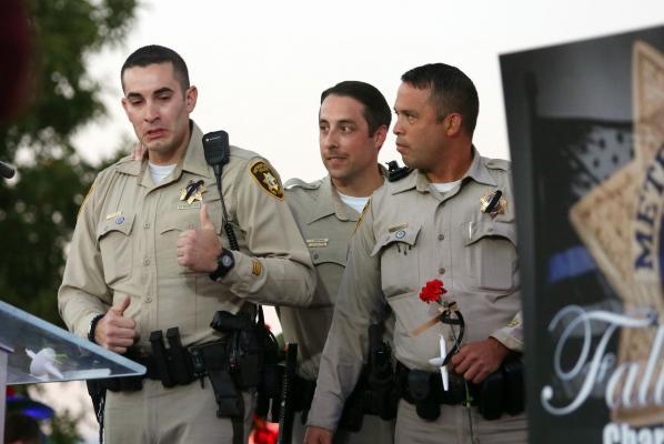 Security guard shot prior to Las Vegas massacre, sheriff says
