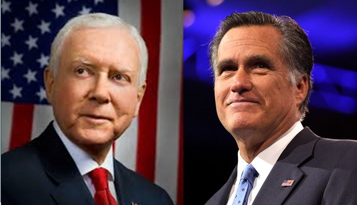 Hatch denies he's made a decision to retire to make way for Romney