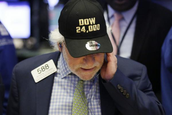 Dow trades above 24000 as stocks open at records