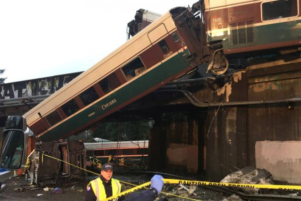 Seconds Before Amtrak Derailment, Engineer Made Comment About 'Over Speed Condition'