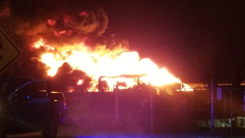 I-15 closes in both directions after semi-tanker catches fire, explodes