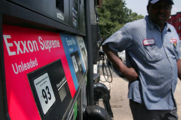 Gas Prices Hit A Four-Year High