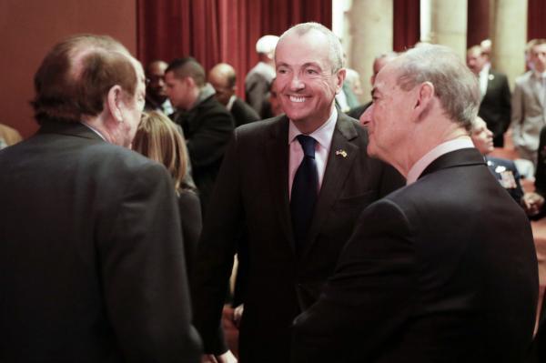 Democrat Phil Murphy prepares to change into New Jersey governor