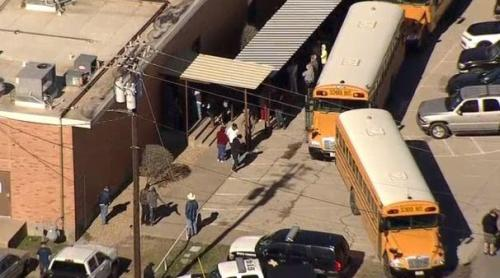 1 shot at Italy, Texas school; suspect arrested