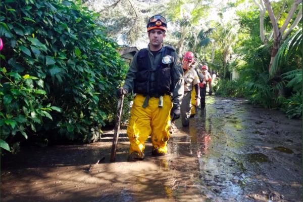 Ellen DeGeneres, Oprah Winfrey talks about deadly mudslides
