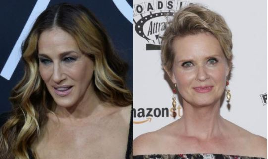 Cynthia Nixon reunites with Sarah Jessica Parker amid feud with Kim Cattrall