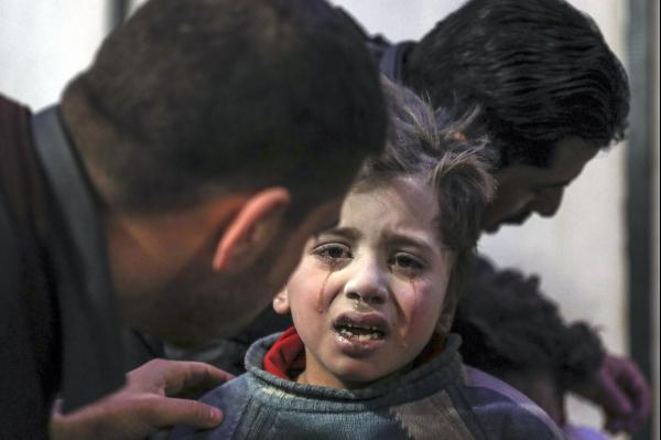 Unicef issues blank statement to condemn 'war ON children' in Syria