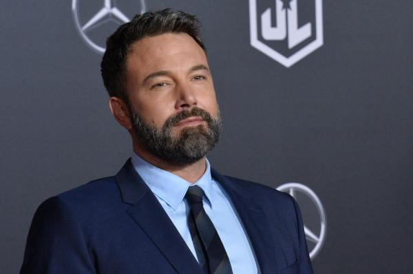 Ben Affleck's enormous back tattoo returns