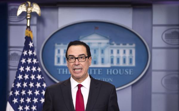 Mnuchin `Hopeful' Truce Can Be Reached With China on Trade