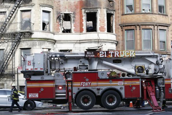 Firefighter dies combating blaze on Bruce Willis' movie set